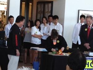 Steve Cho Fundraiser, Dr. Tae Yun Kim, Martin Yan